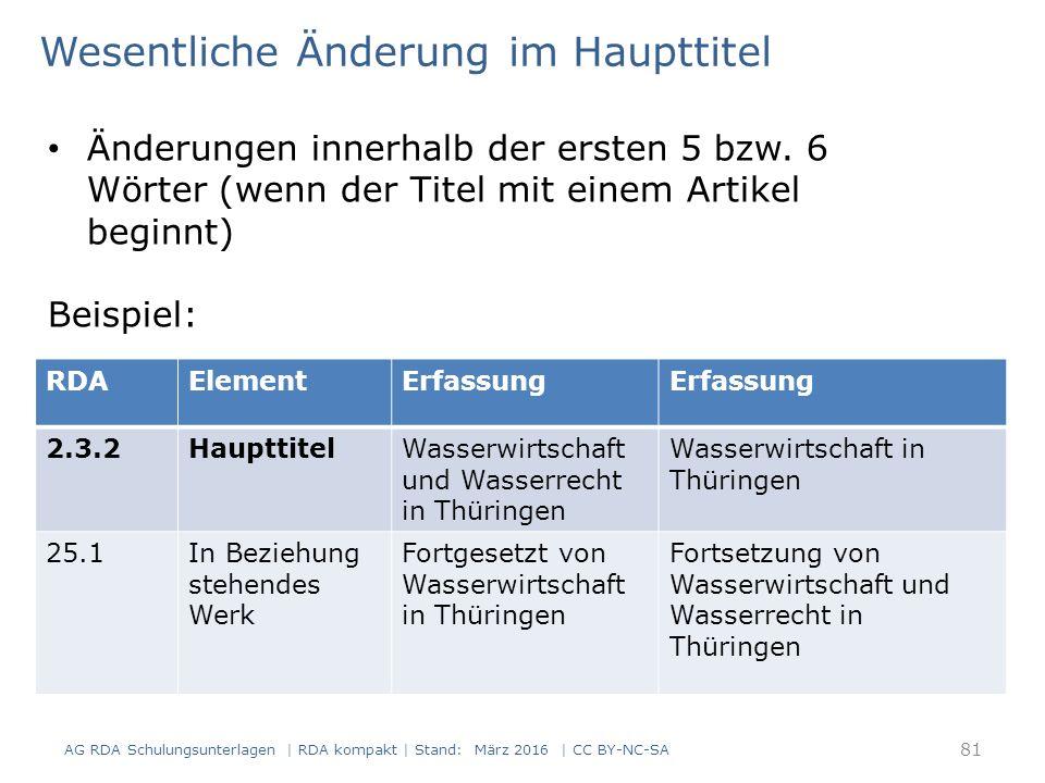 81 RDAElementErfassung 2.3.2HaupttitelWasserwirtschaft und Wasserrecht in Thüringen Wasserwirtschaft in Thüringen 25.1In Beziehung stehendes Werk Fort