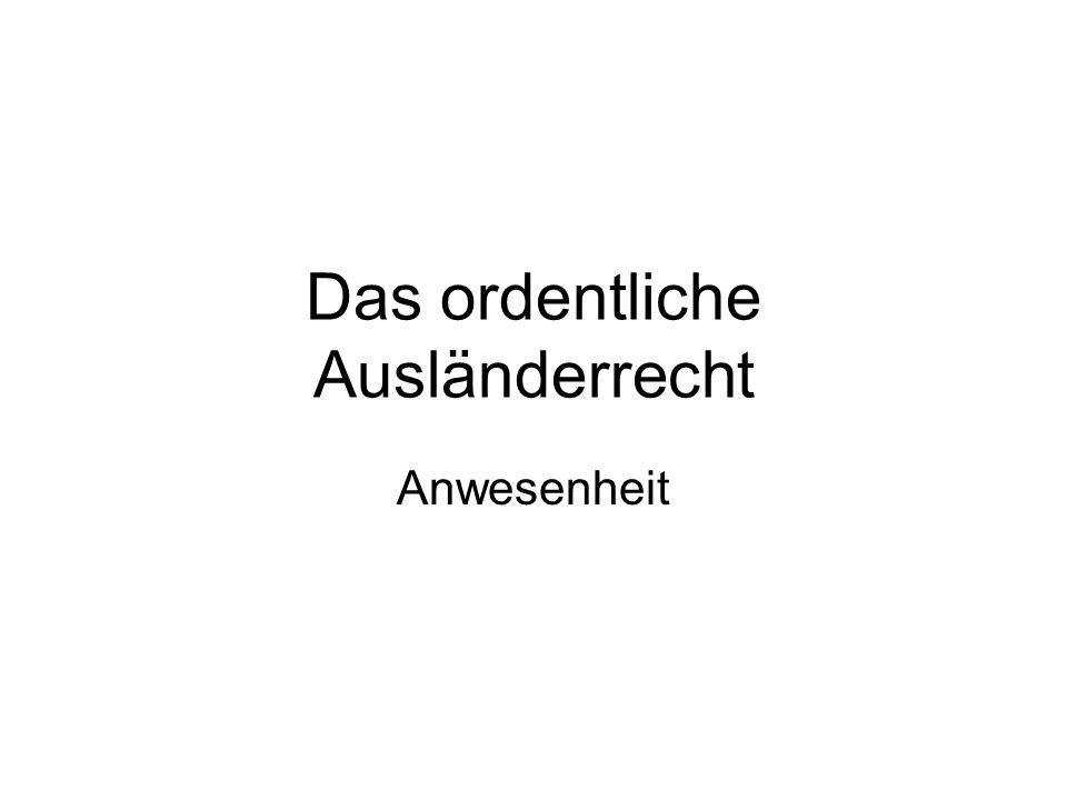 Bewilligungsarten: Niederlassung Niederlassungsbewilligung (Art.