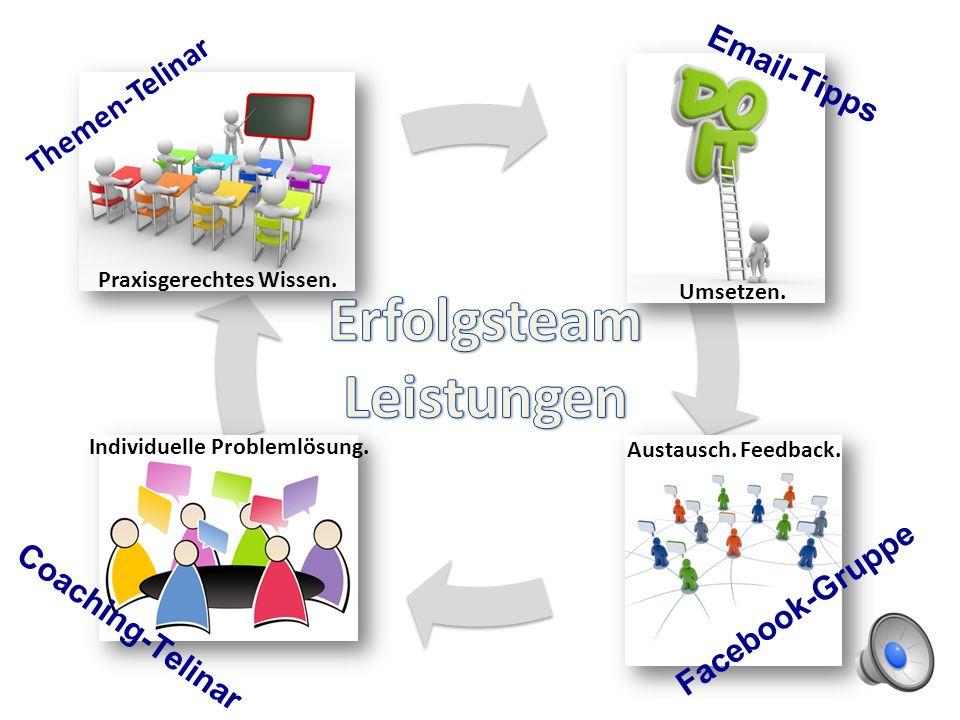 Themen-Telinar Praxisgerechtes Wissen.Email-Tipps Umsetzen.