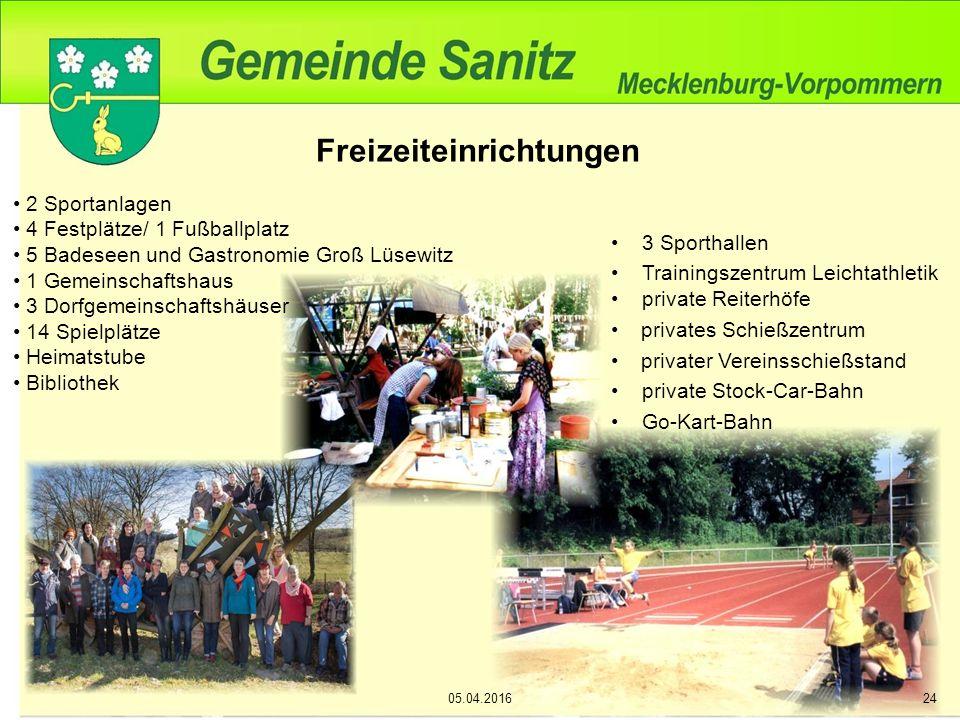 Freizeit, Sport und Kultur 53 Vereine und Interessengemeinschaften 05.04.201625