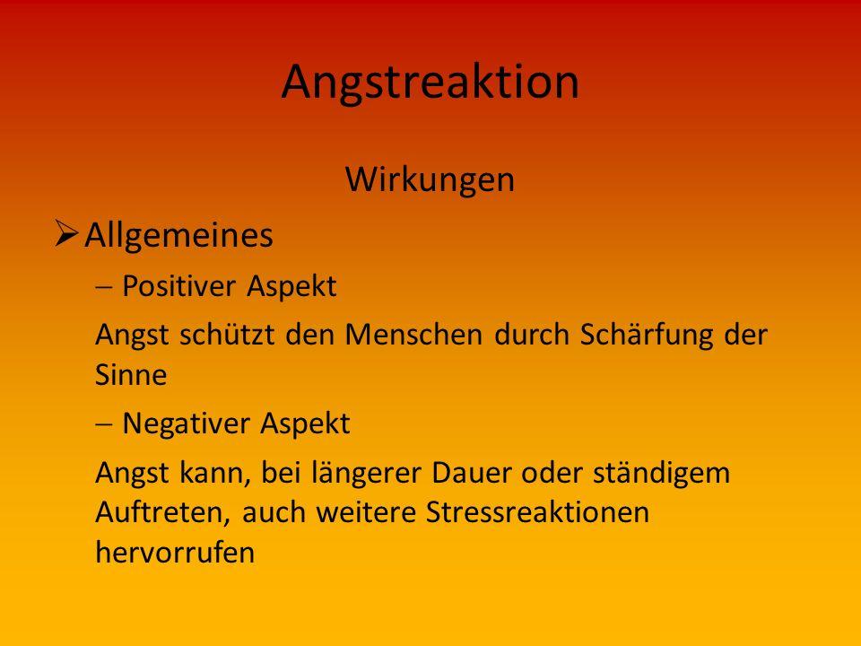 Angstreaktion Vorkommen  Angstreaktionen können auftreten bei Fremden Personen Tieren Einsatzkräften  Merke: Angst zu haben ist eine der natürlichen