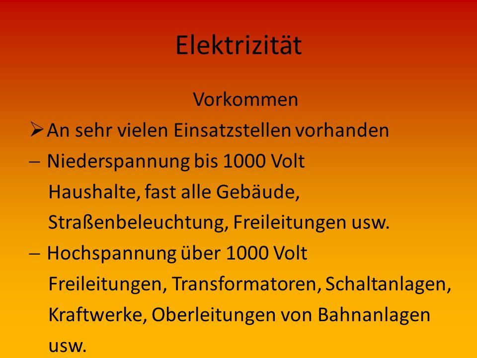 Elektrizität