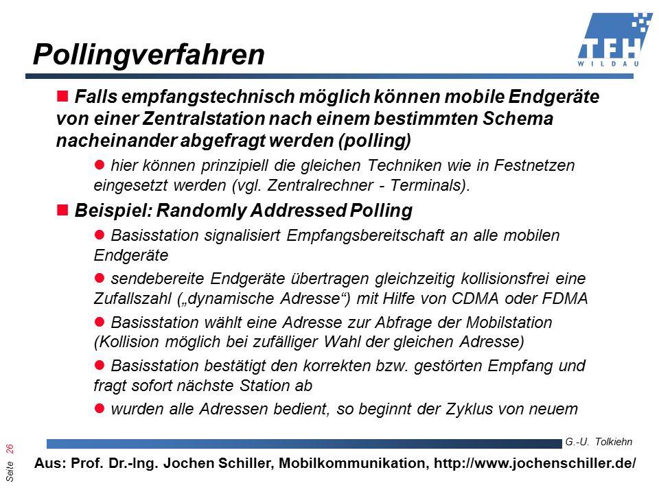 Seite 26 G.-U. Tolkiehn TKL, Wirtschaftsinformatik 6.