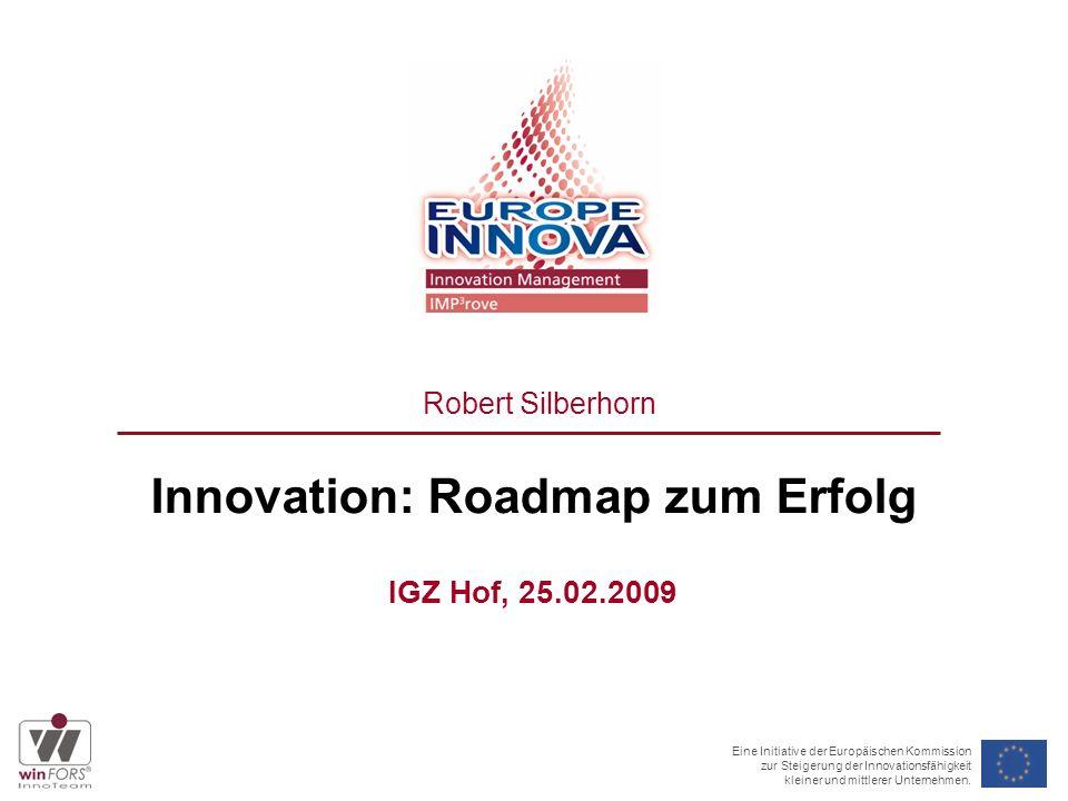 2 Drei Botschaften für die Unternehmer der Region 1.Innovation lohnt sich 2.Innovation braucht gute Ideen und eine erfolgreiche Umsetzung – beides bieten wir 3.Innovation wird gefördert wie nie zuvor – starten Sie.