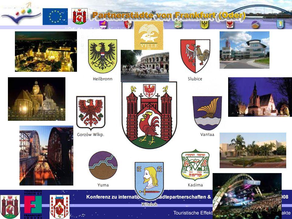 Konferenz zu internationalen Städtepartnerschaften & Tourismus Berlin BWI 24.11.2008 5