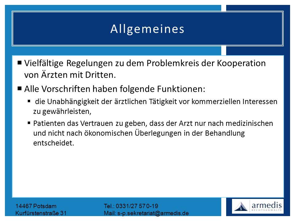 14467 PotsdamTel.: 0331/27 57 0-19 Kurfürstenstraße 31Mail: s-p.sekretariat@armedis.de Allgemeines