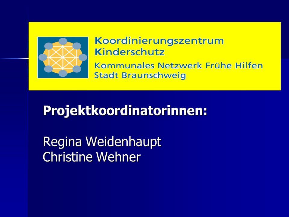 Projektkoordinatorinnen: Regina Weidenhaupt Christine Wehner