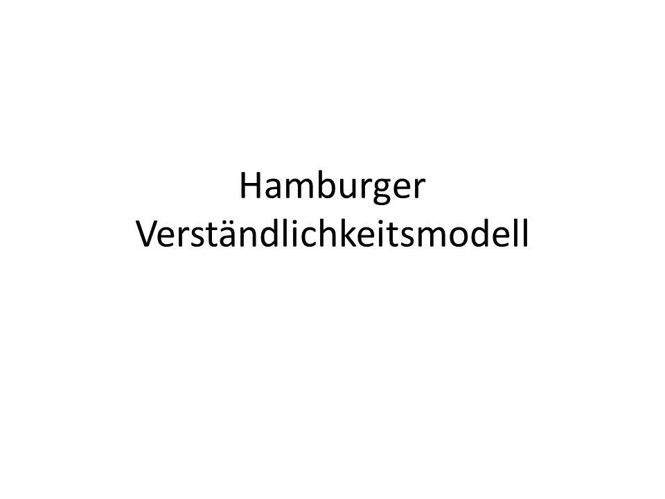 Hamburger Verständlichkeitsmodell