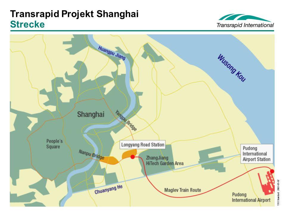 TRI Standard 2003-05-07 Transrapid Projekt Shanghai Strecke
