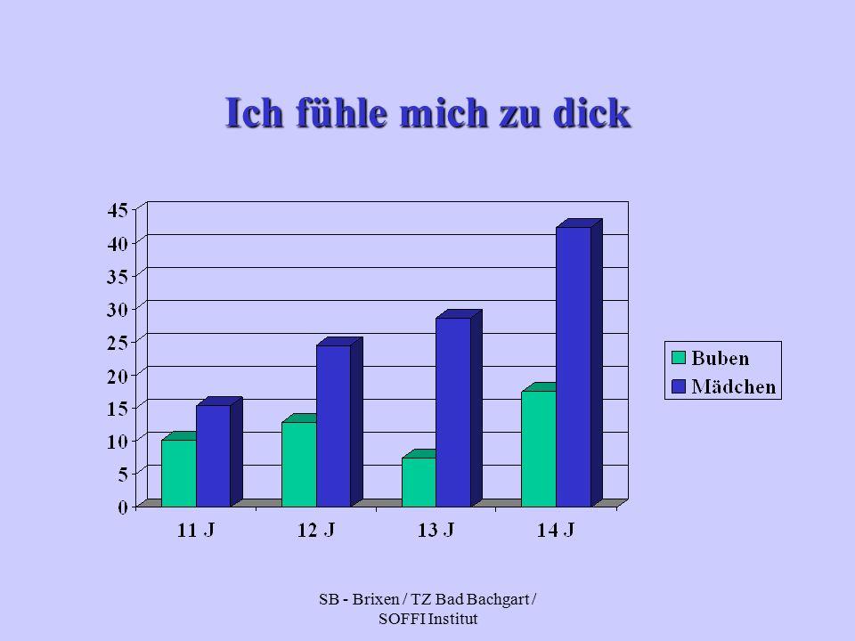 SB - Brixen / TZ Bad Bachgart / SOFFI Institut Ich fühle mich zu dick
