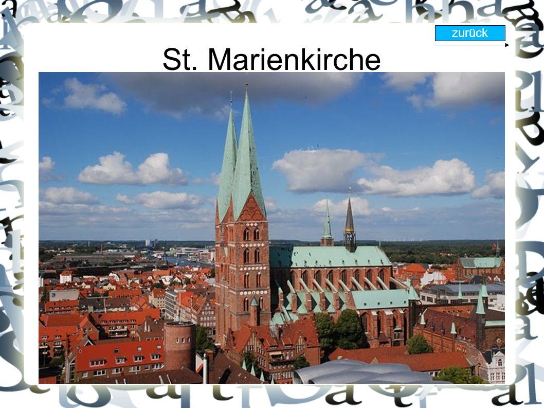 St. Marienkirche zurück