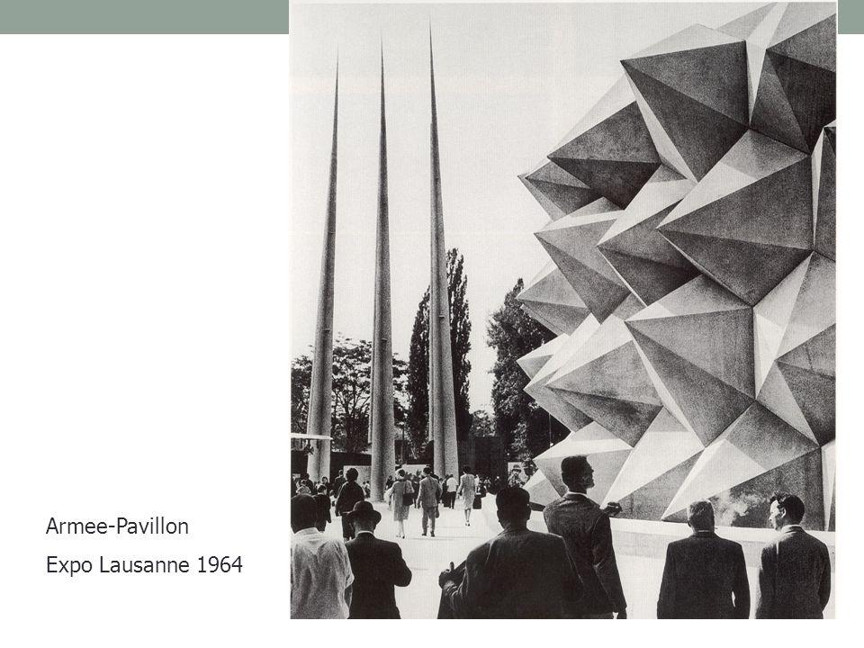 Armee-Pavillon Expo Lausanne 1964