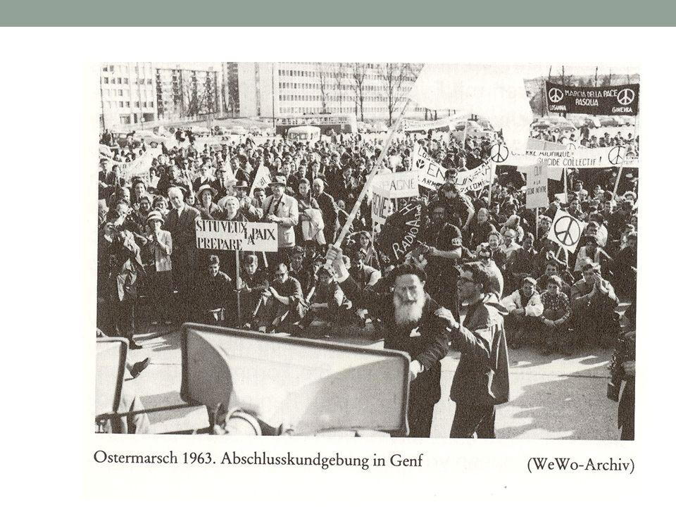 Brückenfunktion für eine erste Protestbewegung nach dem Krieg im friedenspolitischen Bereich 68er Protestbewegung in Umkehrung des traditionellen Freund-Feind-Schemata: Fidel, Mao, Che Guevara … RAF und Kalter Krieg