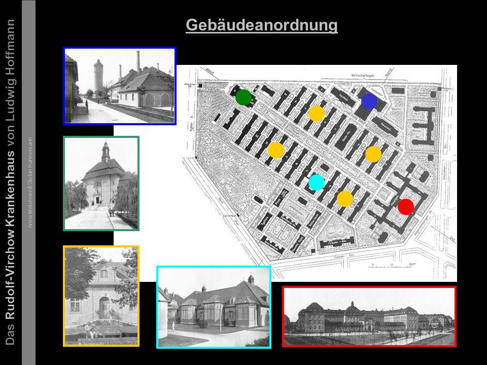 Das Rudolf-Virchow Krankenhaus von Ludwig Hoffmann Anne Mitlehner & Stefan Künnemann Das Hauptgebäude 1-3 gesch.