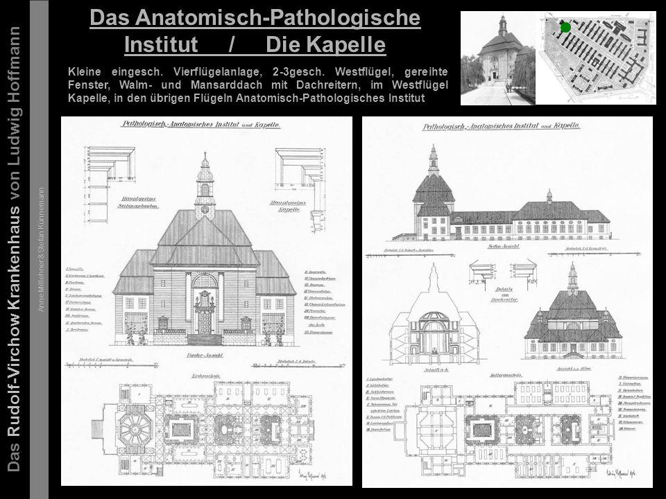 Das Rudolf-Virchow Krankenhaus von Ludwig Hoffmann Anne Mitlehner & Stefan Künnemann Die Entwicklung ab 1906 -nach 1945 ca.
