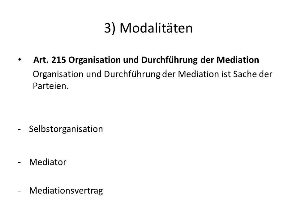 3) Modalitäten Art.