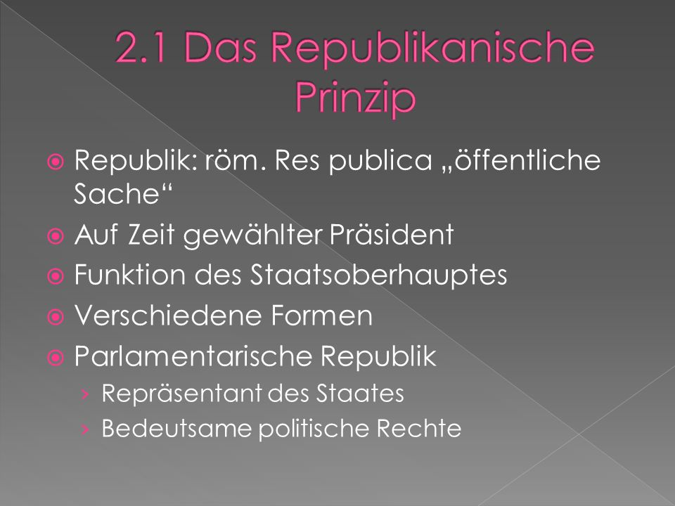  Republik: röm.