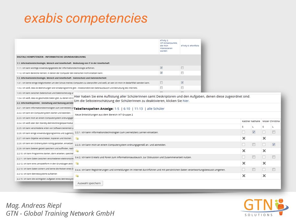 exabis competencies
