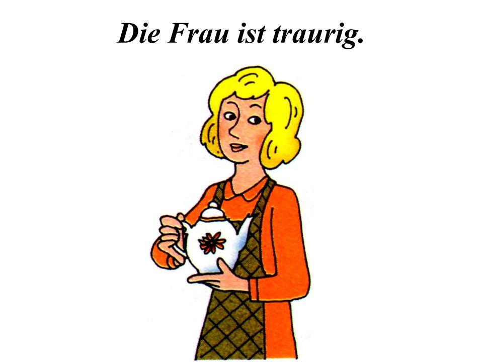 Übung 6. Правильно ли подписаны рисунки Die Wohnung ist sauber.