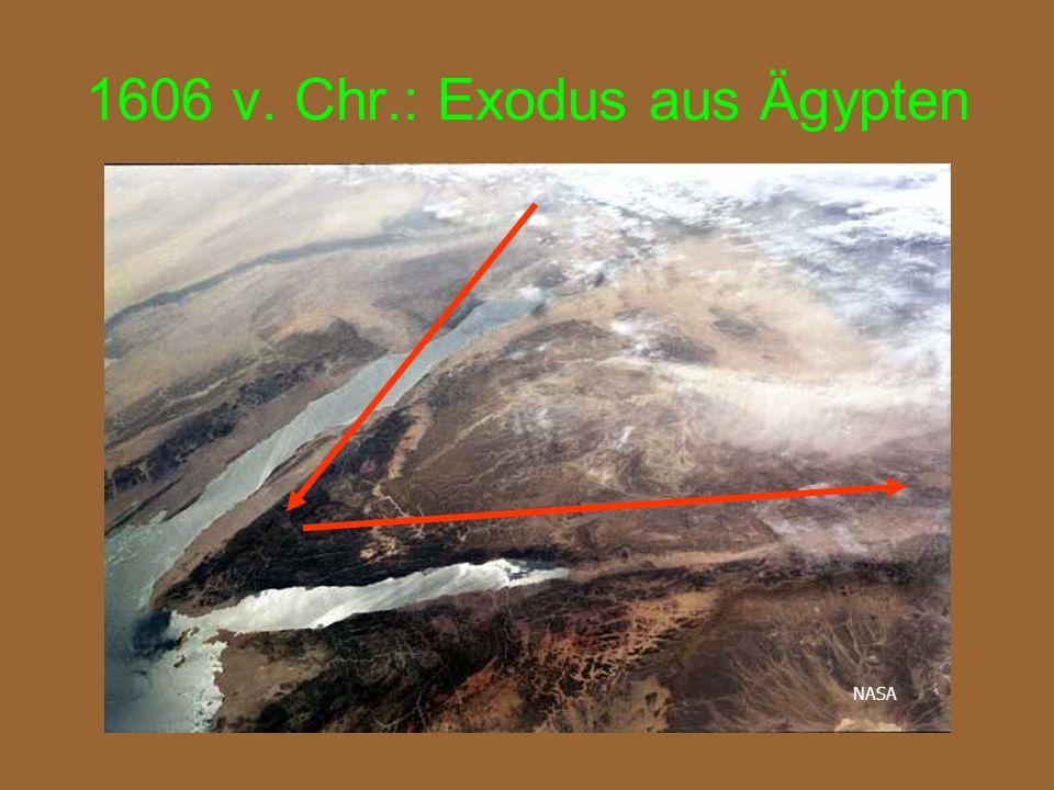 1606 v. Chr.: Exodus aus Ägypten NASA