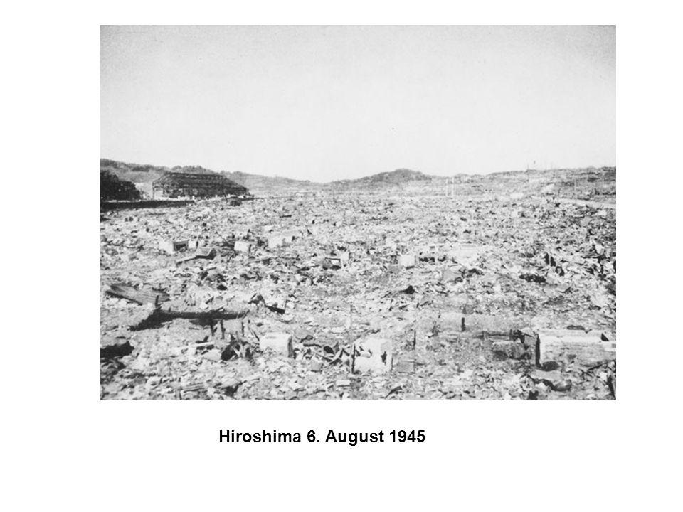 Hiroshima 6. August 1945