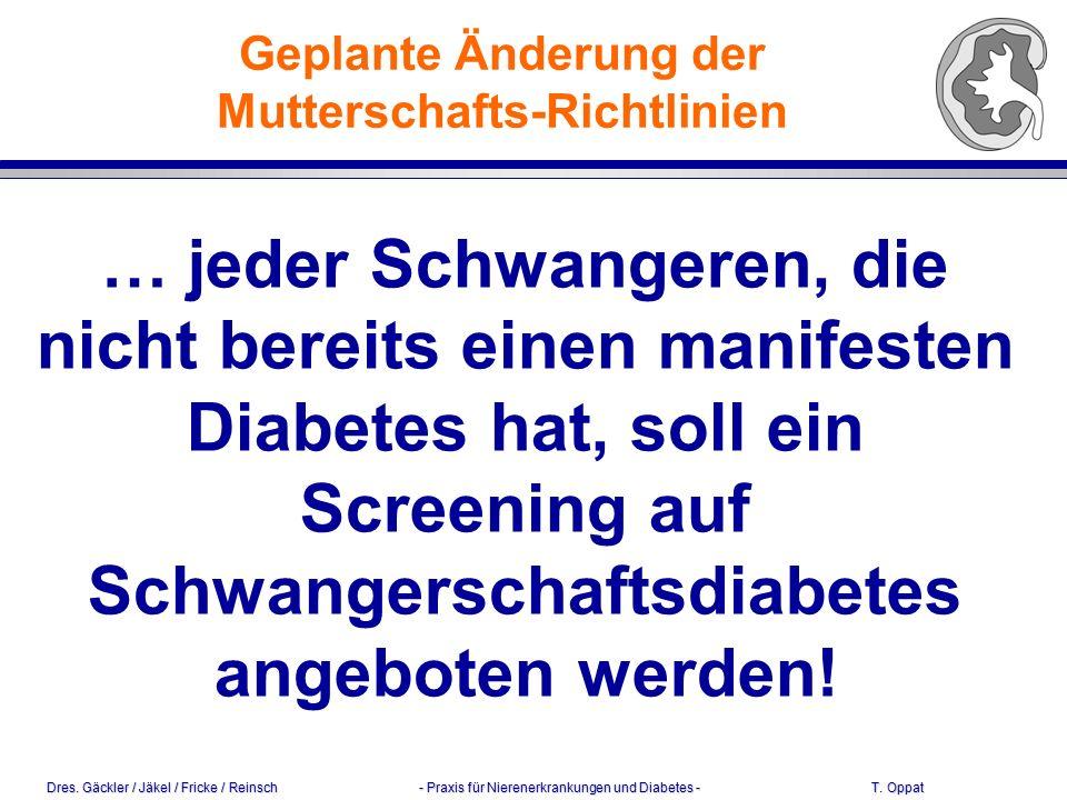 Dres.Gäckler / Jäkel / Fricke / Reinsch - Praxis für Nierenerkrankungen und Diabetes - T.
