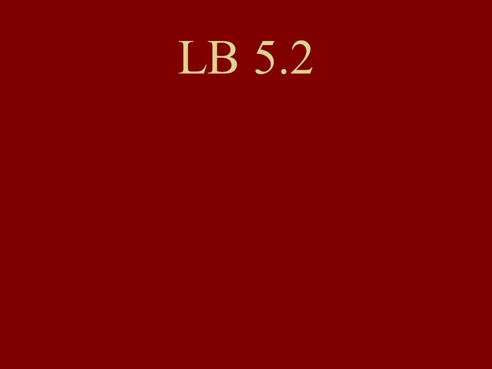 LB 5.2
