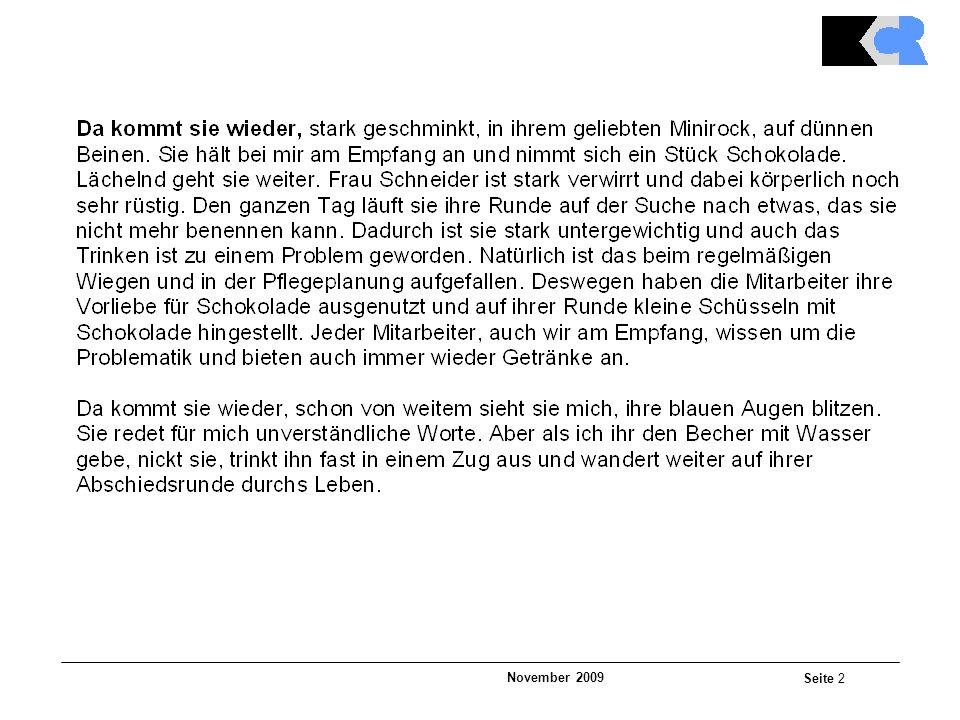 November 2009 Seite 2