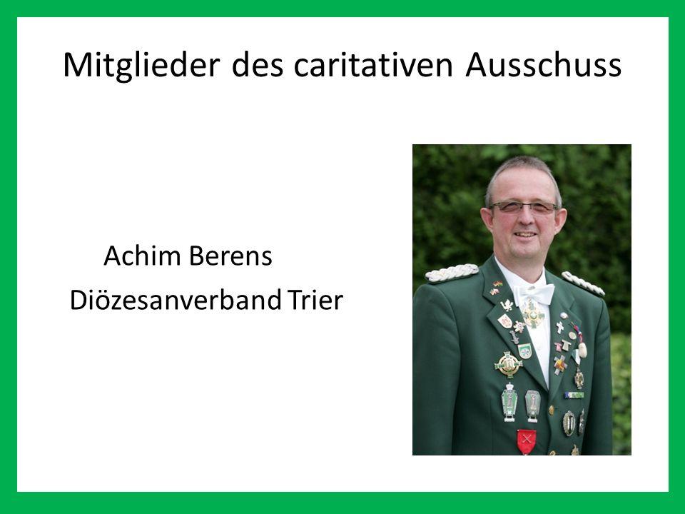 Mitglieder des caritativen Ausschuss Achim Berens Diözesanverband Trier