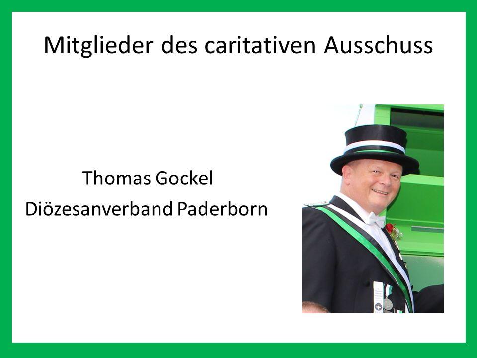 Mitglieder des caritativen Ausschuss Thomas Gockel Diözesanverband Paderborn