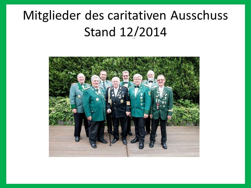 Wir Mitglieder des caritativen Ausschuss Stand 12/2014