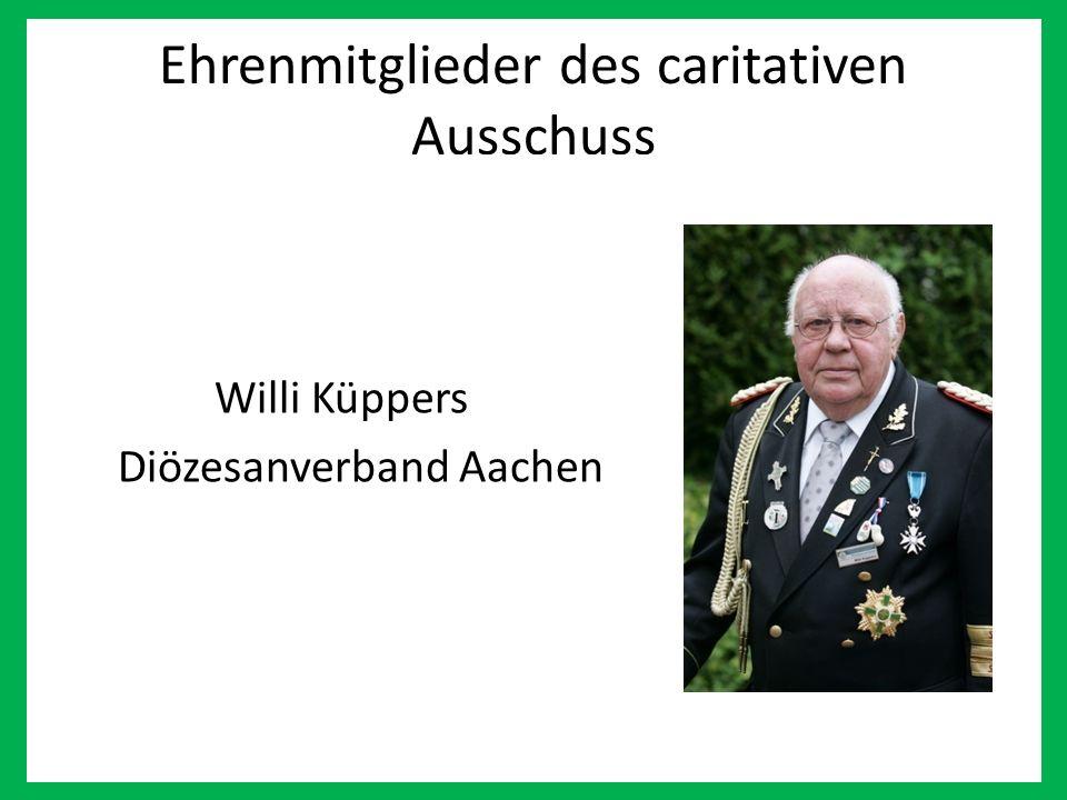 Ehrenmitglieder des caritativen Ausschuss Willi Küppers Diözesanverband Aachen