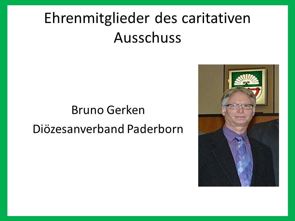 Ehrenmitglieder des caritativen Ausschuss Bruno Gerken Diözesanverband Paderborn