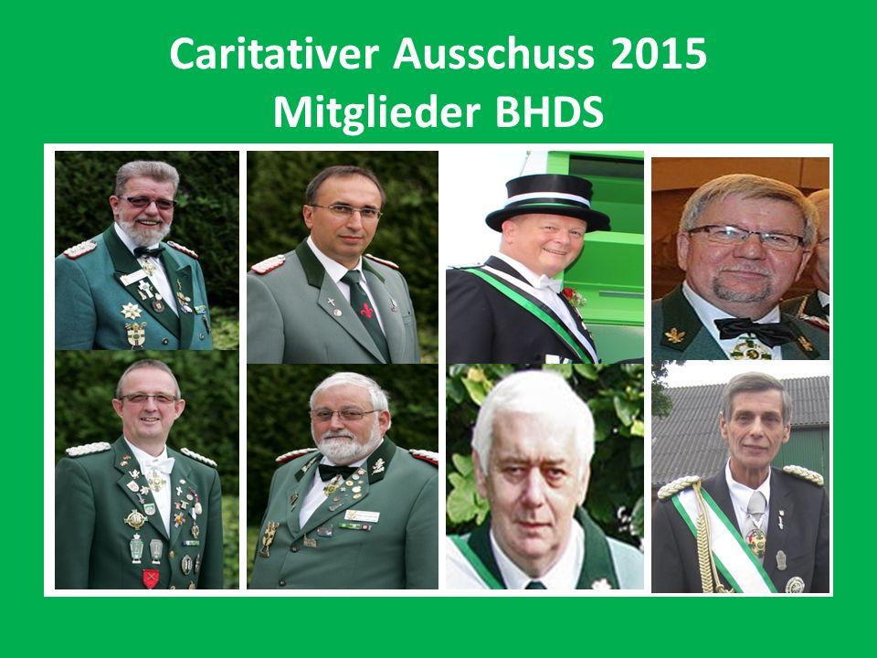 Caritativer Ausschuss 2015 Mitglieder BHDS