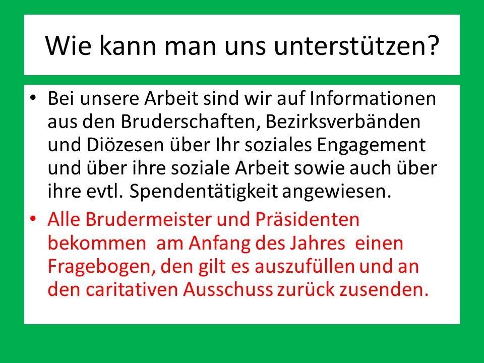 Mitglieder des caritativen Ausschuss Matthias Trienekens Diözesanverband Münster E-Mail: mtrienekens@online.demtrienekens@online.de Tel.