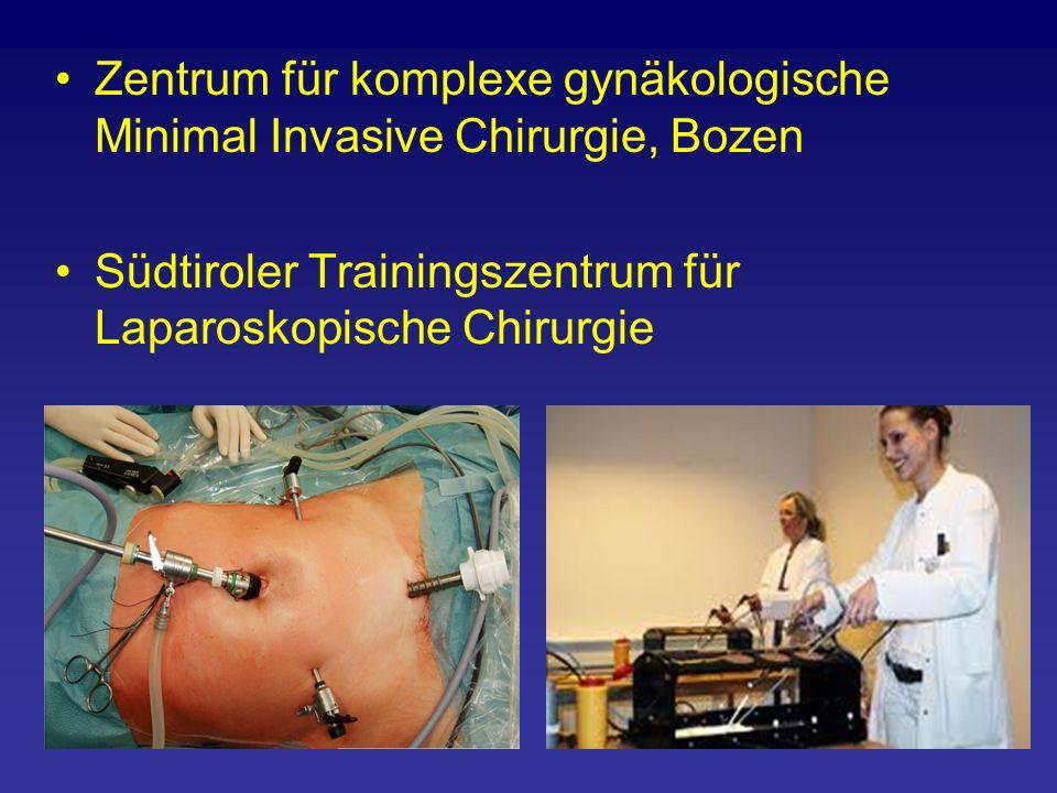 Zentrum für komplexe gynäkologische Minimal Invasive Chirurgie, Bozen Südtiroler Trainingszentrum für Laparoskopische Chirurgie