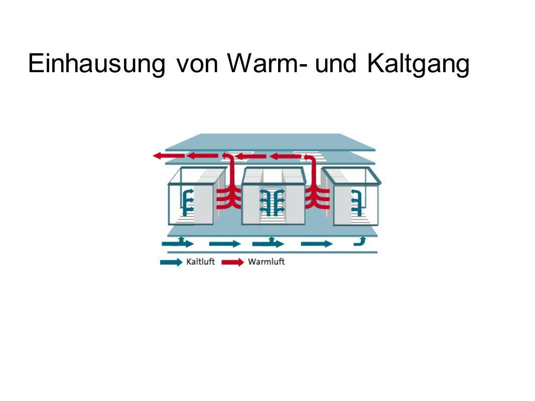 Einhausung von Warm- und Kaltgang