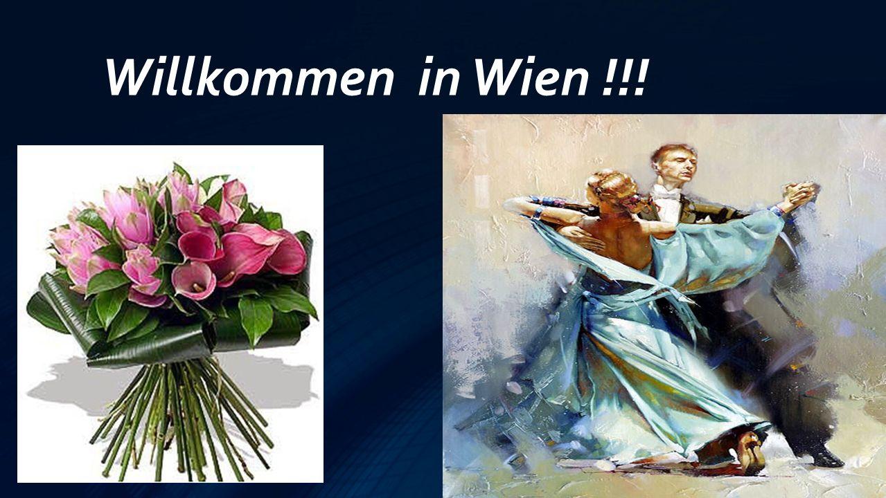 Willkommen in Wien !!!