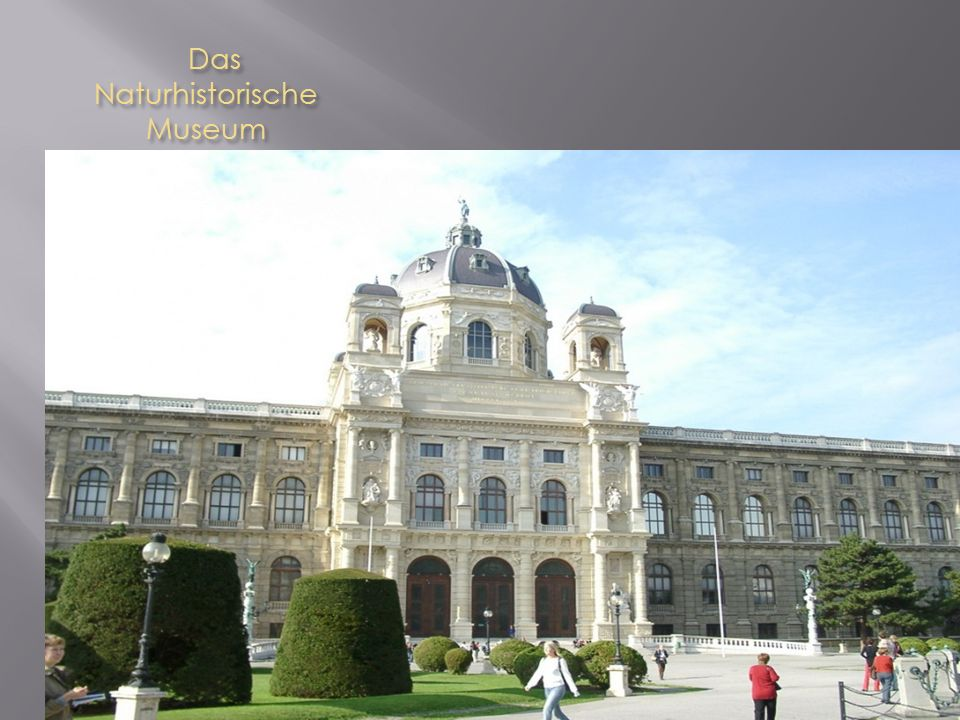 Das Naturhistorische Museum Das Naturhistorische Museum