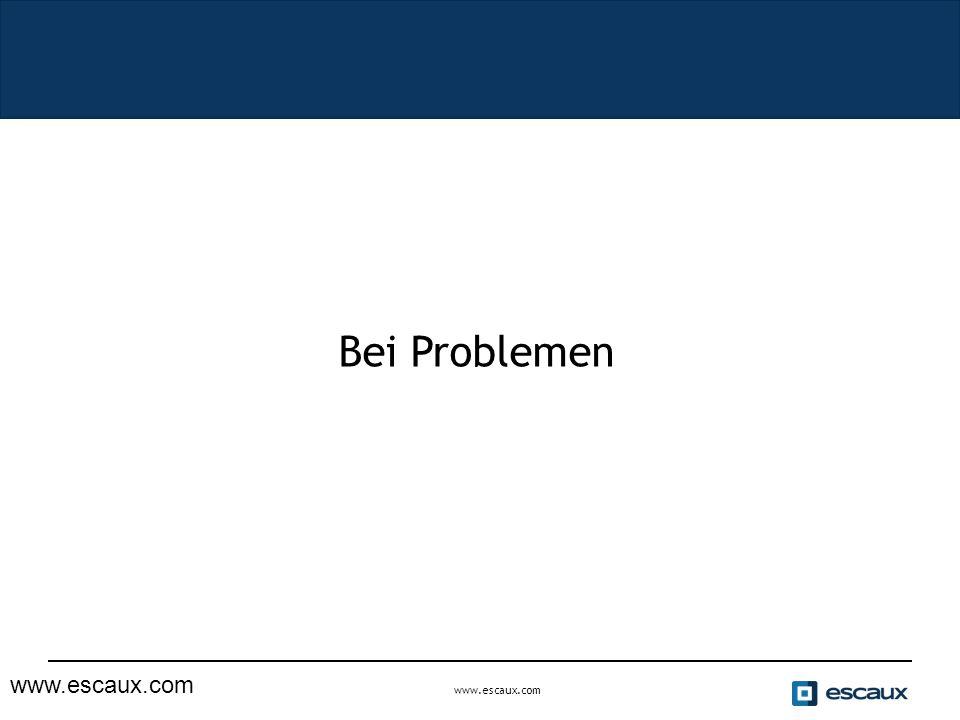 www.escaux.com Bei Problemen www.escaux.com