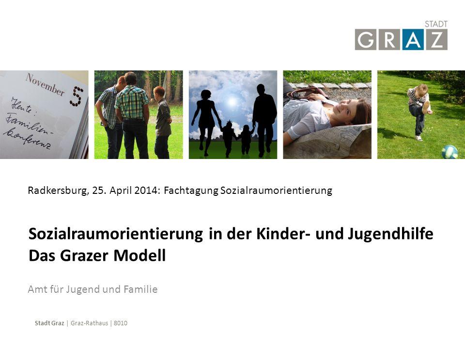 Stadt Graz | Graz-Rathaus | 8010 Amt für Jugend und Familie Sozialraumorientierung in der Kinder- und Jugendhilfe Das Grazer Modell Radkersburg, 25. A