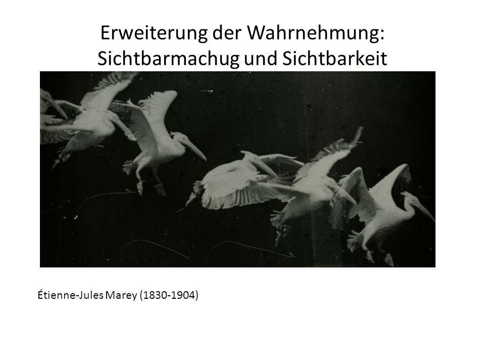 Erweiterung der Wahrnehmung: Sichtbarmachug und Sichtbarkeit Étienne-Jules Marey (1830-1904)