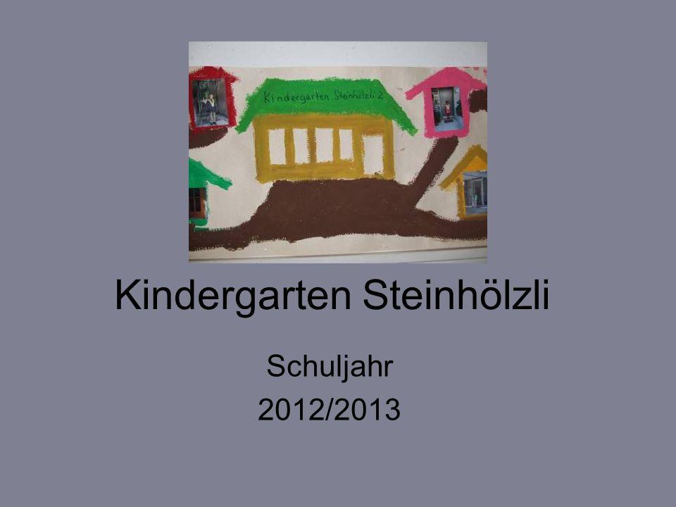 Kindergarten Steinhölzli Schuljahr 2012/2013
