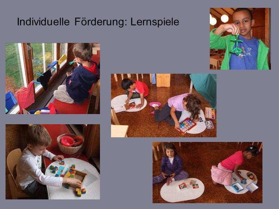 Zusammen arbeiten, zusammen wachsen und Freunde werden im Kindergarten Steinhölzli 2