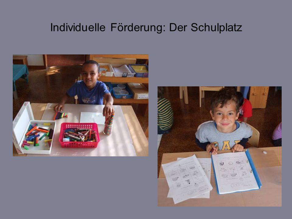 Individuelle Förderung: Der Schulplatz