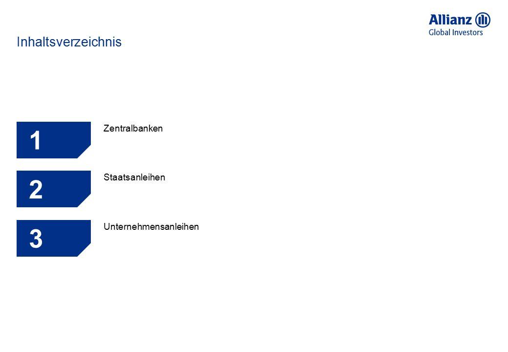 Inhaltsverzeichnis 1 Zentralbanken 5 2 Staatsanleihen 6 3 Unternehmensanleihen 7 4