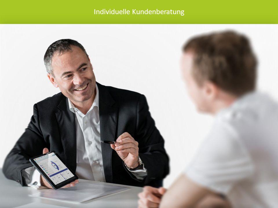 Individuelle Kundenberatung