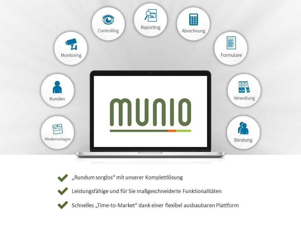"""""""Rundum sorglos mit unserer Komplettlösung Leistungsfähige und für Sie maßgeschneiderte Funktionalitäten Schnelles """"Time-to-Market dank einer flexibel ausbaubaren Plattform"""