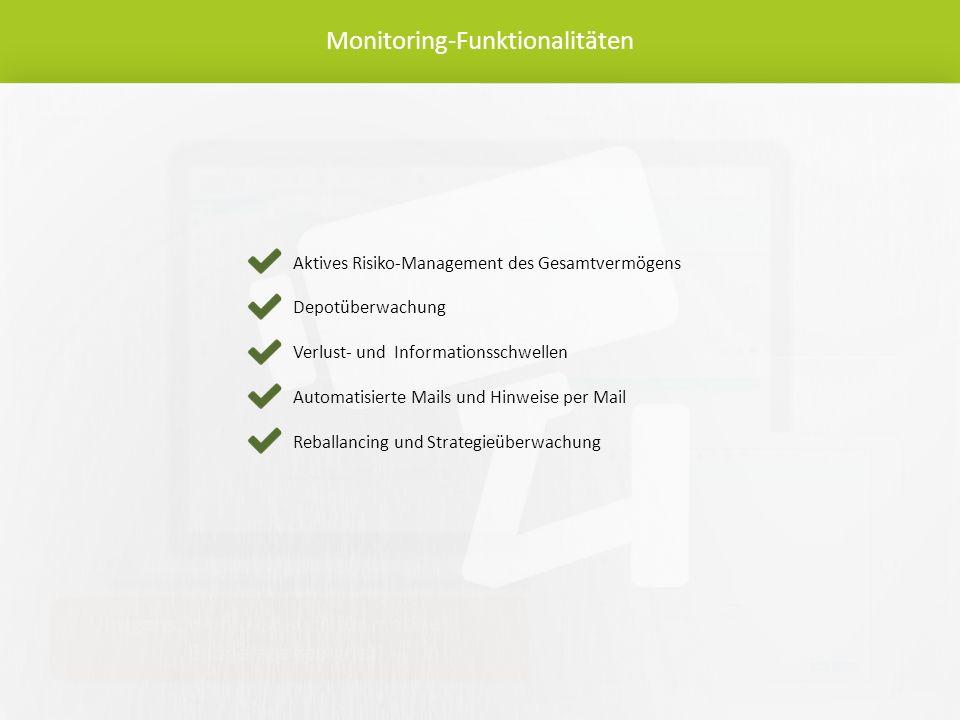 Monitoring-Funktionalitäten Übrigens: munio ist auch für mobile Endgeräte geeignet.