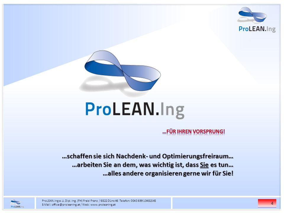 4 ProLEAN.Ing e.U.Dipl. Ing.